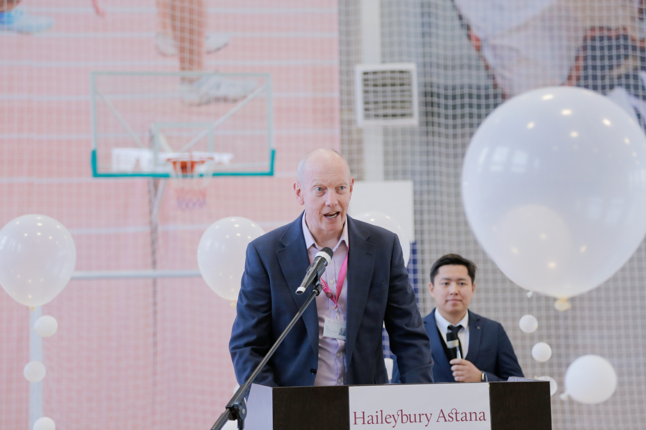 Ian Hunt, Chairman of the Board of Governors at Haileybury Kazakhstan