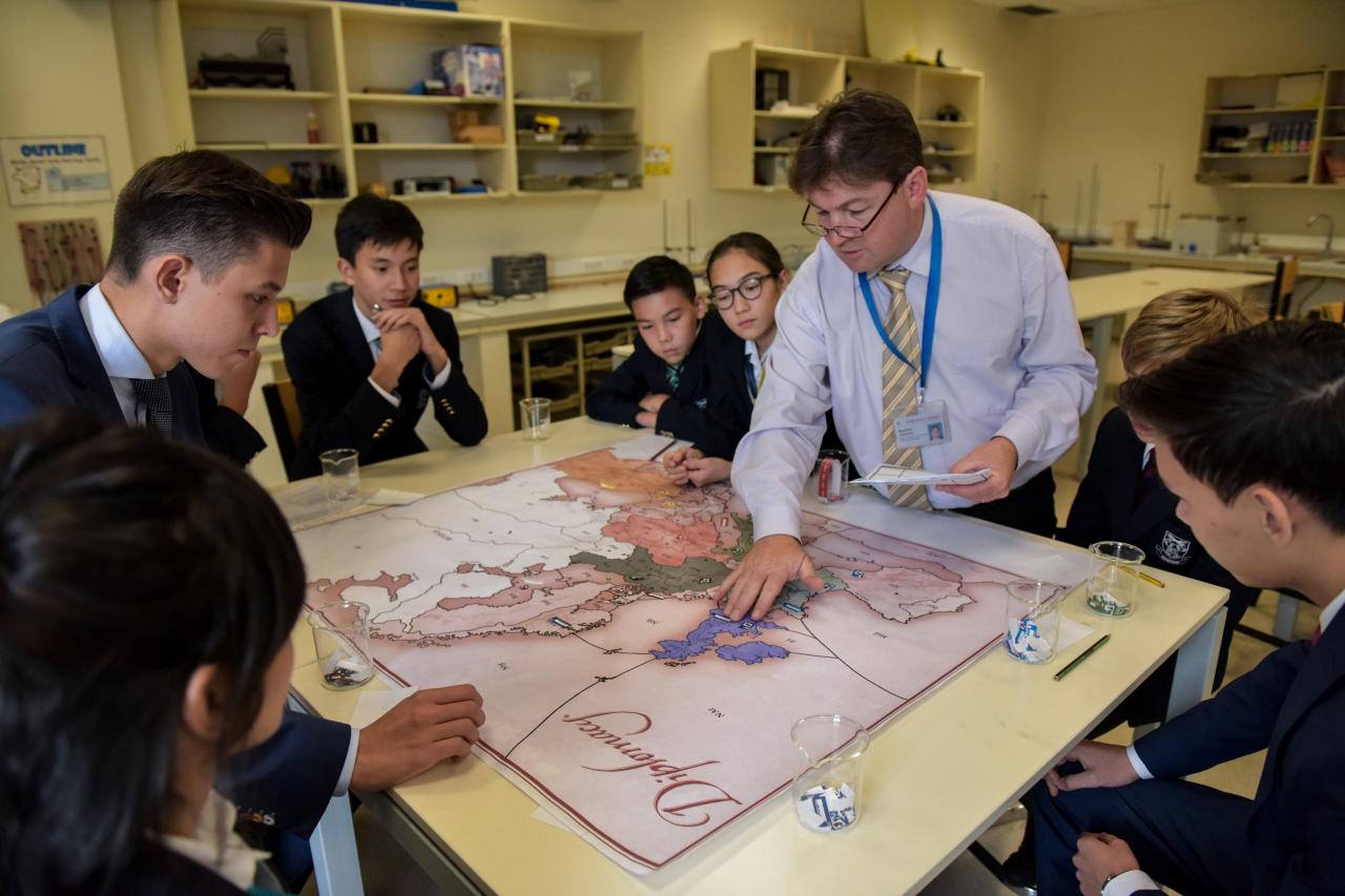 British independent school in Haileybury Almaty