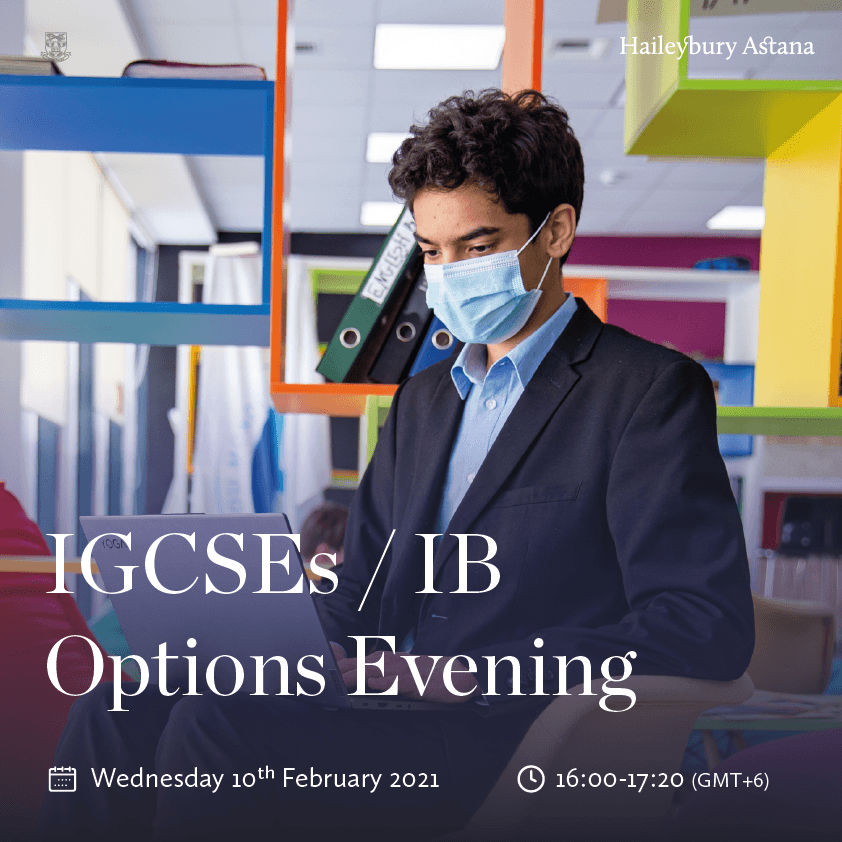 IGSCEs/IB Options Evening