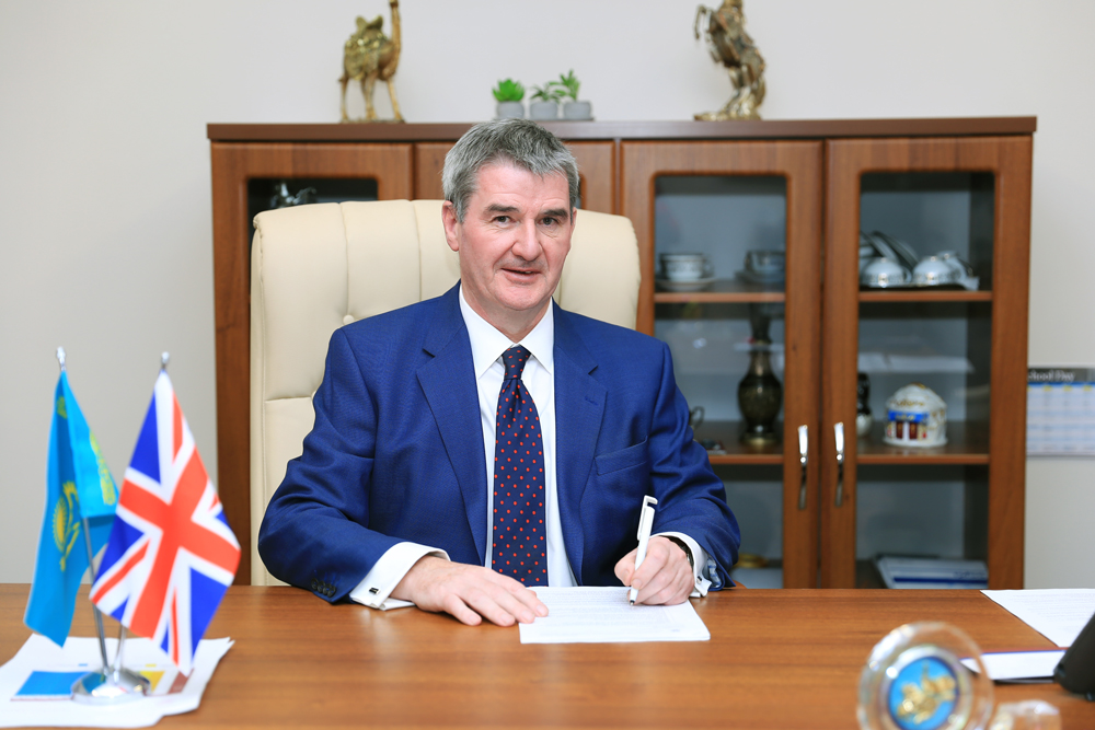 New Headmaster at Haileybury Astana