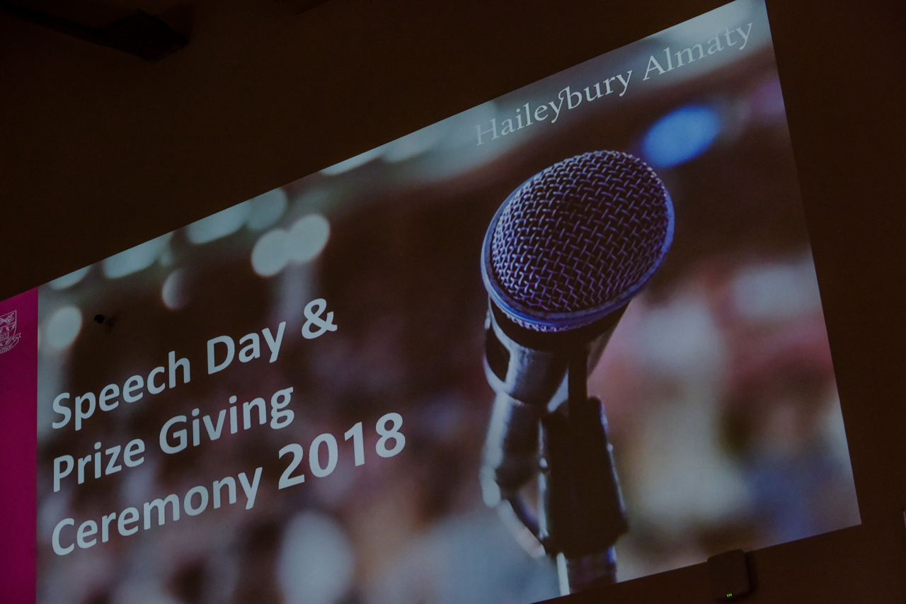 Speech Day and Prize Giving Ceremony 2018