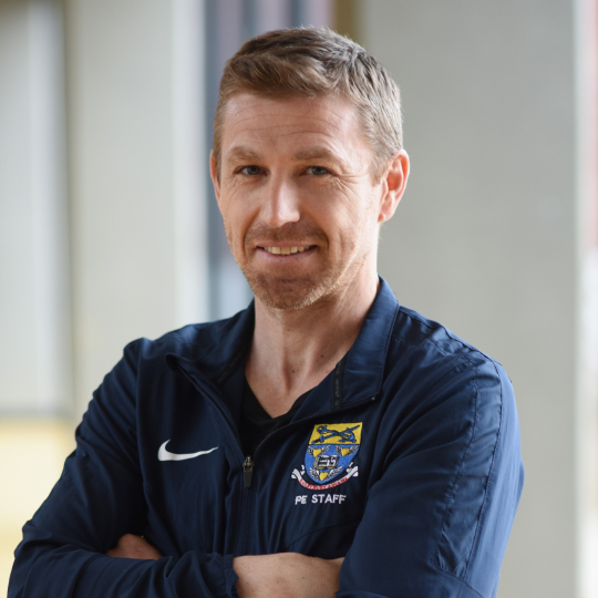 Jamie Williams, Head of PE Faculty
