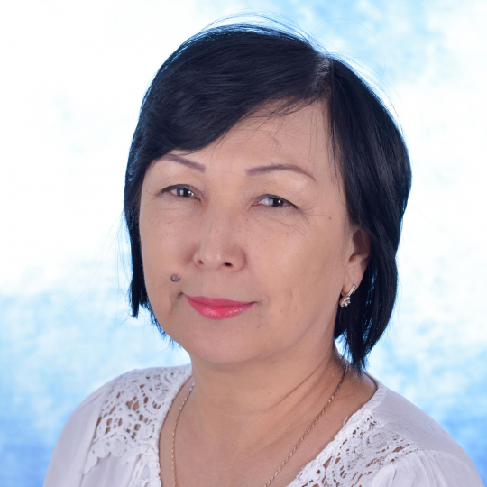 Dina Omarova, Whole School Teacher of Kazakh