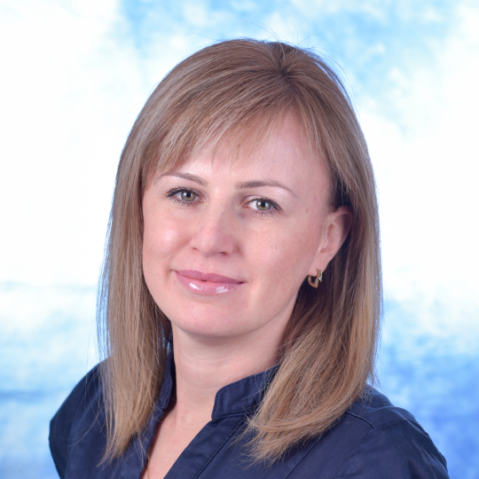 Oksana Dotsenko, Head of Learning Support