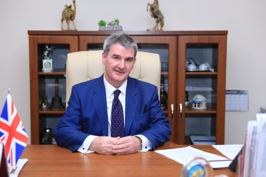 Mark Smith, Headmaster at Haileybury Astana